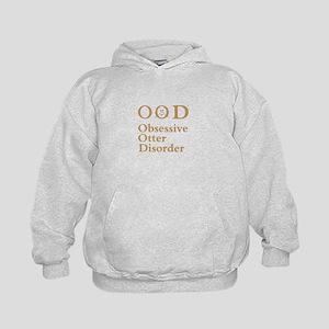 Obsessive Otter Disorder Kids Hoodie