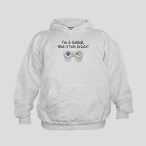 I'm A Gamer What's Your Excuse Kids Hoodie