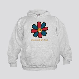 Smile and Let It Go Kids Hoodie