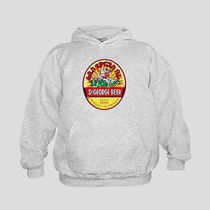 Ethiopia Beer Label 4 Kids Hoodie