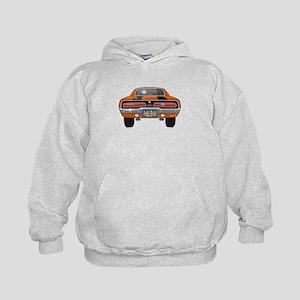 1969 Charger Bumper Kids Hoodie