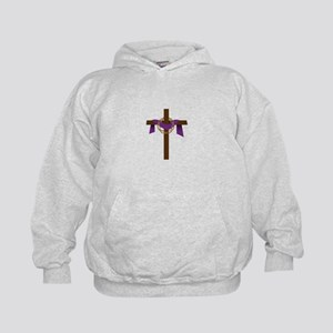 Season Of Lent Cross Hoodie