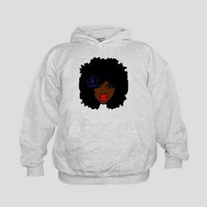 BrownSkin Curly Afro Natural Hair???? P Sweatshirt