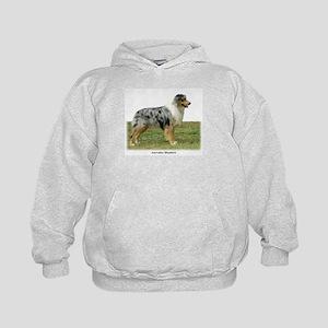 Australian Shepherd 9K7D-20 Kids Hoodie