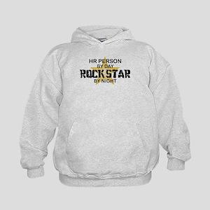 HR Rock Star by Night Kids Hoodie