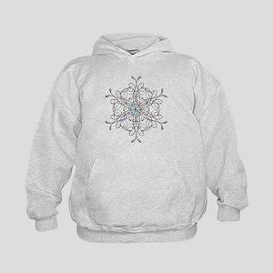 Iridescent Snowflake Hoodie