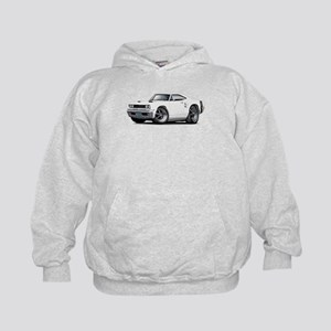 1969 Coronet White Car Kids Hoodie
