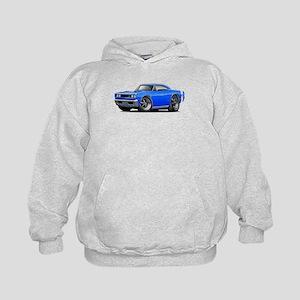 1969 Super Bee Blue Car Kids Hoodie