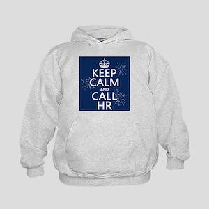 Keep Calm and Call H.R. Kids Hoodie