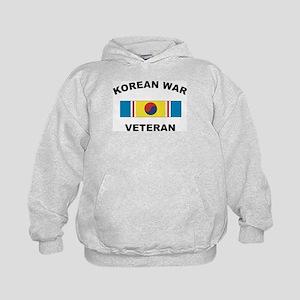 Korean War Veteran 2 Kids Hoodie
