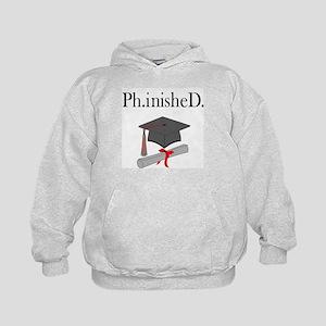 Ph.inisheD. Kids Hoodie