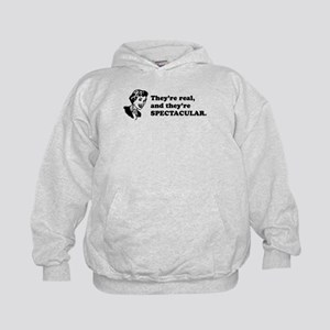 They're Spectacular Retro Kids Hoodie