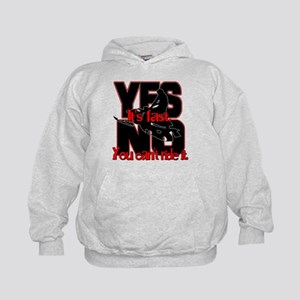 Yes It's Fast - No You Can't Kids Hoodie