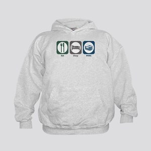 Eat Sleep HVAC Kids Hoodie