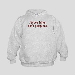 Jersey Boys Don't Pump Gas Kids Hoodie