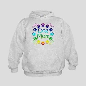 """""""Dog Mom"""" Kids Hoodie"""