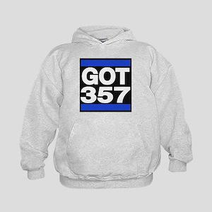 got 357 blue Hoodie