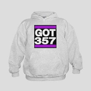 got 357 purple Hoodie