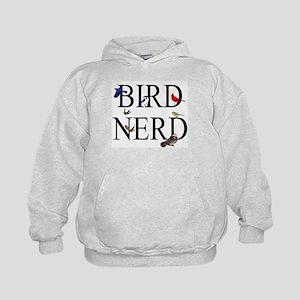 Bird Nerd Kids Hoodie