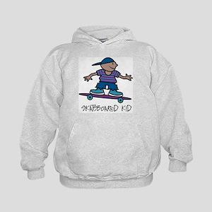 Skateboard Kid Kids Hoodie