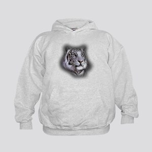White Tiger Face Sweatshirt