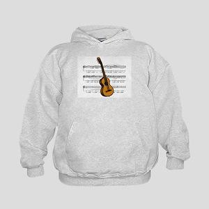 Music (Guitar) Kids Hoodie
