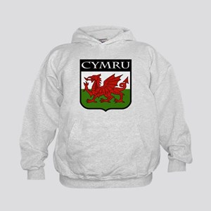 Wales Coat of Arms Kids Hoodie