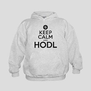 Keep Calm and Hodl Humor Sweatshirt