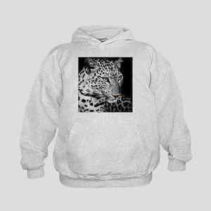 White Leopard Hoodie
