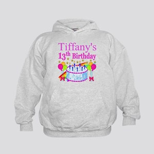 PERSONALIZED 13TH Kids Hoodie