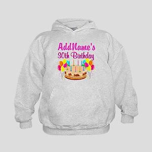 FABULOUS 30TH Kids Hoodie