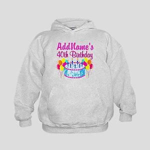 40TH PARTY Kids Hoodie