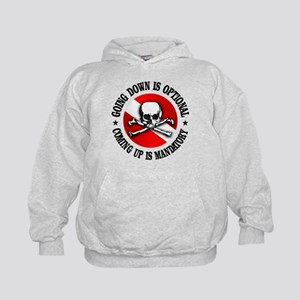 Going Down Is Optional Hoodie