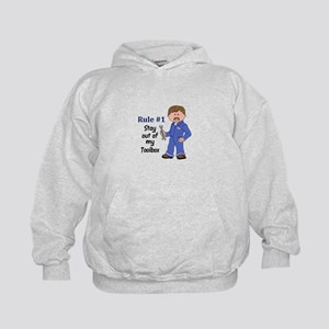 STAY OUT OF MY TOOLBOX Hoodie
