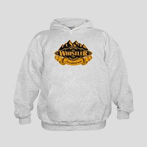 Whistler Mountain Emblem Kids Hoodie