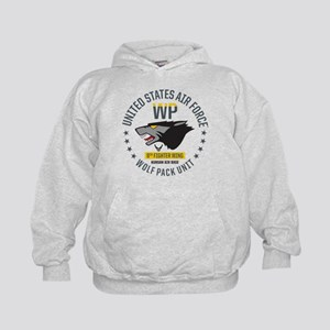 USAF Wolf Pack 8th Fighter Wing Kids Hoodie
