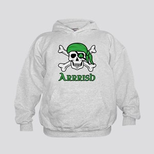 Irish Pirate - Arrrish Kids Hoodie