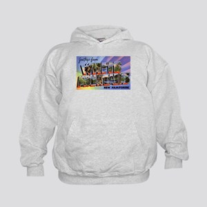 White Mountains NH (Front) Kids Hoodie
