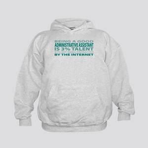 Good Administrative Assistant Kids Hoodie