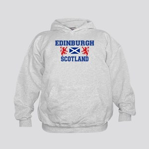 Edinburgh Kids Grey Hoodie