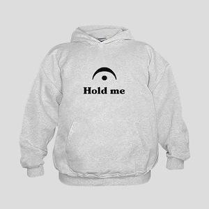 Hold Me (I'm a Fermata) Kids Hoodie