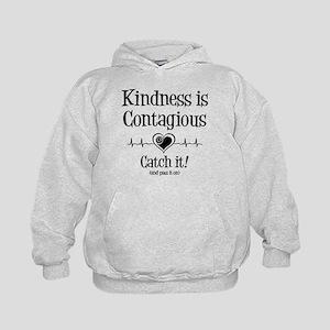 CONTAGIOUS KINDNESS Kids Hoodie