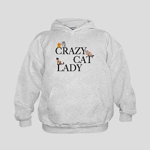 Crazy Cat Lady Kids Hoodie