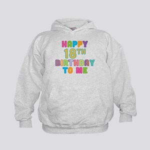 Happy 18th B-Day To Me Kids Hoodie