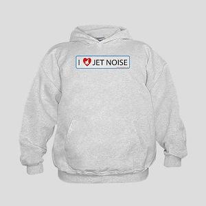 I 3 Jet Noise Kids Hoodie