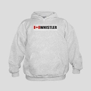 Whistler, British Columbia Kids Hoodie