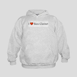 Bass Clarinet Gift Kids Hoodie