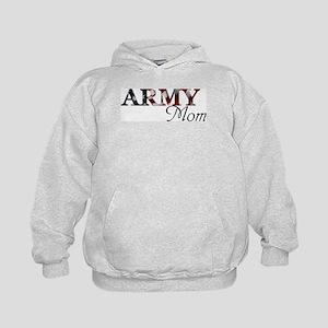 Army Mom (Flag) Kids Hoodie