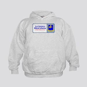 2nd Battalion 502nd Infantry Kids Hoodie