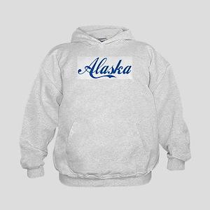 Alaska (cursive) Kids Hoodie